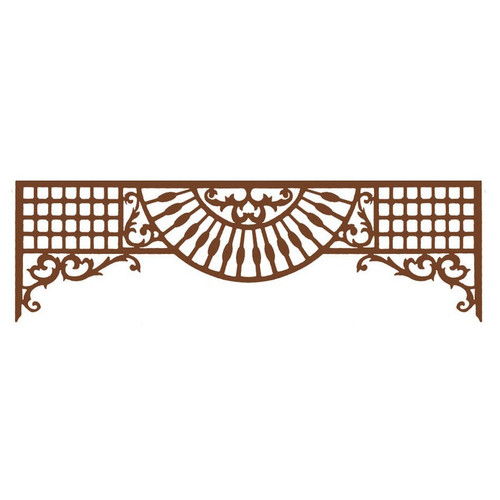 Grille (Style C) for dollhouse miniatures