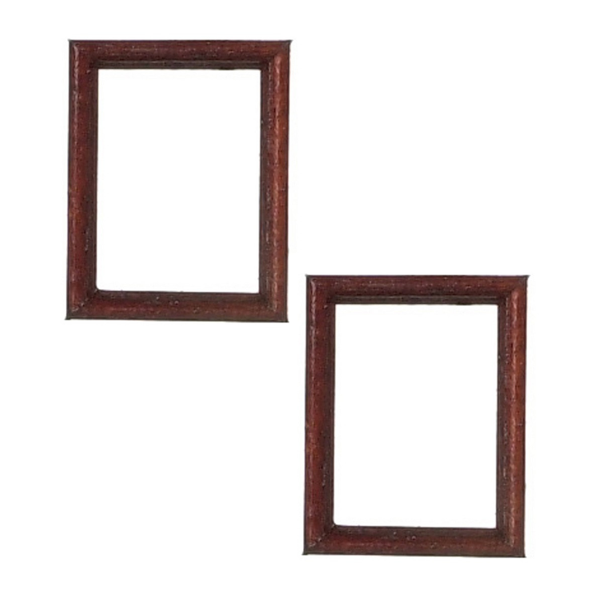 FCA2994MH - Mahogany Frames - Jeepers Dollhouse Miniatures