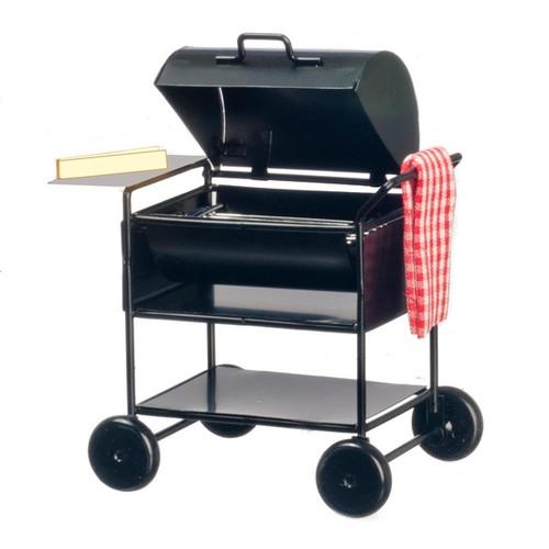 Dollhouse miniature barbecue grill