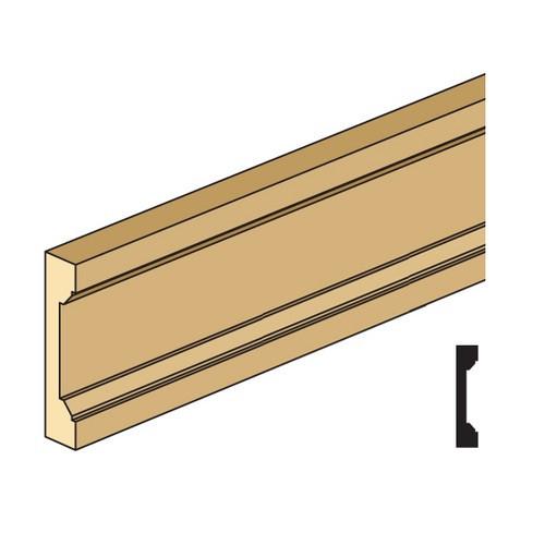 Illustration of miniature door/window casing