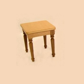Miniature Cara Golden Oak End Table