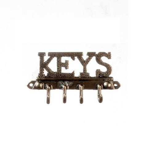 Dollhouse miniature key rack