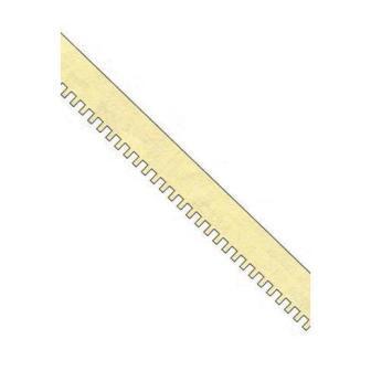 Illustration shows section of dentil trim