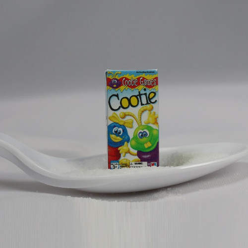 Cootie (dollhouse size) board game