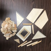 Photograph of unassembled parts for RGTM45 - Classic Dormer
