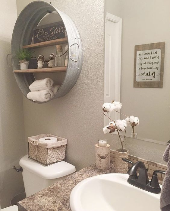 5 most popular rustic bathroom ideas on pinterest in 2017 snazzy switch - Rustic Ideas For The Home