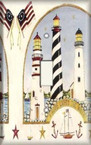 American Lighthouses - Light Switch Plate Cover
