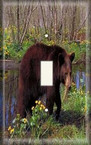Bear In The Woods - Light Switch Plate Cover