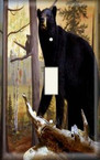 Bear Museum - Light Switch Plate Cover