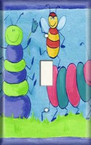 Bugs - Kids Light Switch Cover