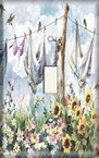 Clothesline - Light Switch Plate Cover