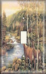 Deer Creek - Light Switch Plate Cover