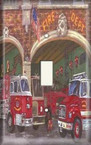 Fire House - Light Switch Plate Cover