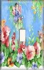 Flower Fairy 2 - Light Switch Plate Cover