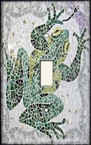 Frog Mosaic - Light Switch Plate Cover