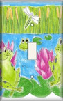 Froggy Bog - Light Switch Plate Cover