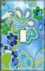 Glass Flowers - Light Switch Plate Cover