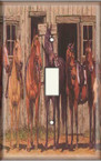 Horse Gathering - Light Switch Plate Cover