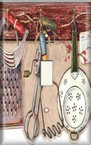 Kitchen Utensils - Light Switch Plate Cover
