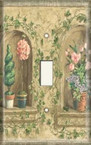 Old Flower Sills - Light Switch Plate Cover
