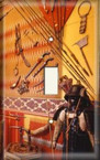 Oriental Warrior Wall - Light Switch Plate Cover