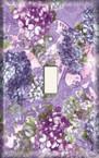 Purple Bluebonnet - Light Switch Plate Cover