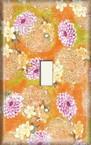 Purple/Orange Assortment - Light Switch Plate Cover
