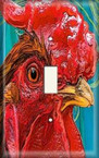 Red Red Rooster - Light Switch Plate Cover