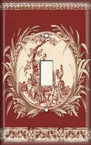 Red Rooster - Light Switch Plate Cover