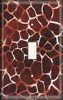Rocky Brown - Light Switch Plate Cover