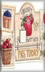 Strawberry Lovers - Light Switch Plate Cover