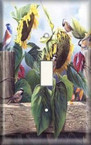 Sunflower Birds - Light Switch Plate Cover