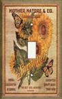 Sunflower Seed Package - Light Switch Plate Cover