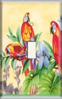 Tropical Birds - Light Switch Plate Cover