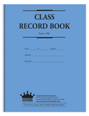 9 Week Compact Class Record Book (9W)