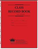 Class Record Book, 6-Subject (Green Print) (910-6LGN)