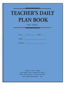 Teachers Daily Plan Book - 2 Part (4222D)