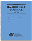 Teachers Plan Book, 6 Subject (40D)