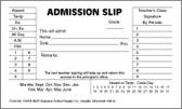 NCR Duplicate Admit Slips (150SD-NCR)