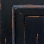 Distressed Black Premium Paint Finish