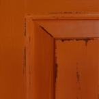 Distressed Orange Premium Paint Finish