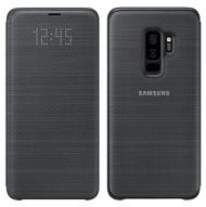 Official Original Genuine Samsung LED Notification Flip Cover Case for Samsung Galaxy S9+ (S9 Plus) - EF-NG965PBEGWW - Black