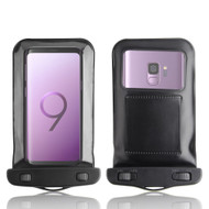 InventCase Waterproof Dustproof Bag Protective Case Cover for Samsung Galaxy S9/S9+ - Black