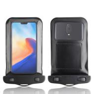 InventCase Waterproof Dustproof Bag Case Cover for OnePlus 6 - Black