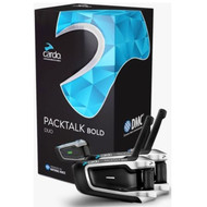 Cardo Scala Rider PackTalk Bold Duo Motorcycle Bluetooth Handsfree with DMC Technology - BTSRPTBD