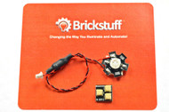 Brickstuff High-Power Ultraviolet LED for the Brickstuff LEGO® Lighting System - LEAF01H-UV-1PK