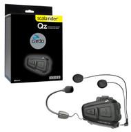 Cardo Scala Rider QZ Motorcycle Bluetooth Headset Communication System - BTSRQZ