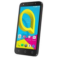 Alcatel U5 SIM Free UK Smartphone Mobile - Volcanic Black with Cocoa Grey