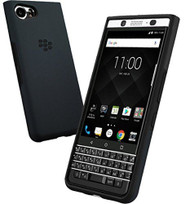Official BlackBerry KEYone Dual Layer Shell Case Cover - Blue / Black (DLB100)
