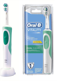 Oral-B Vitality 2D Action Technology Electric Rechargeable Toothbrush - Dual Clean